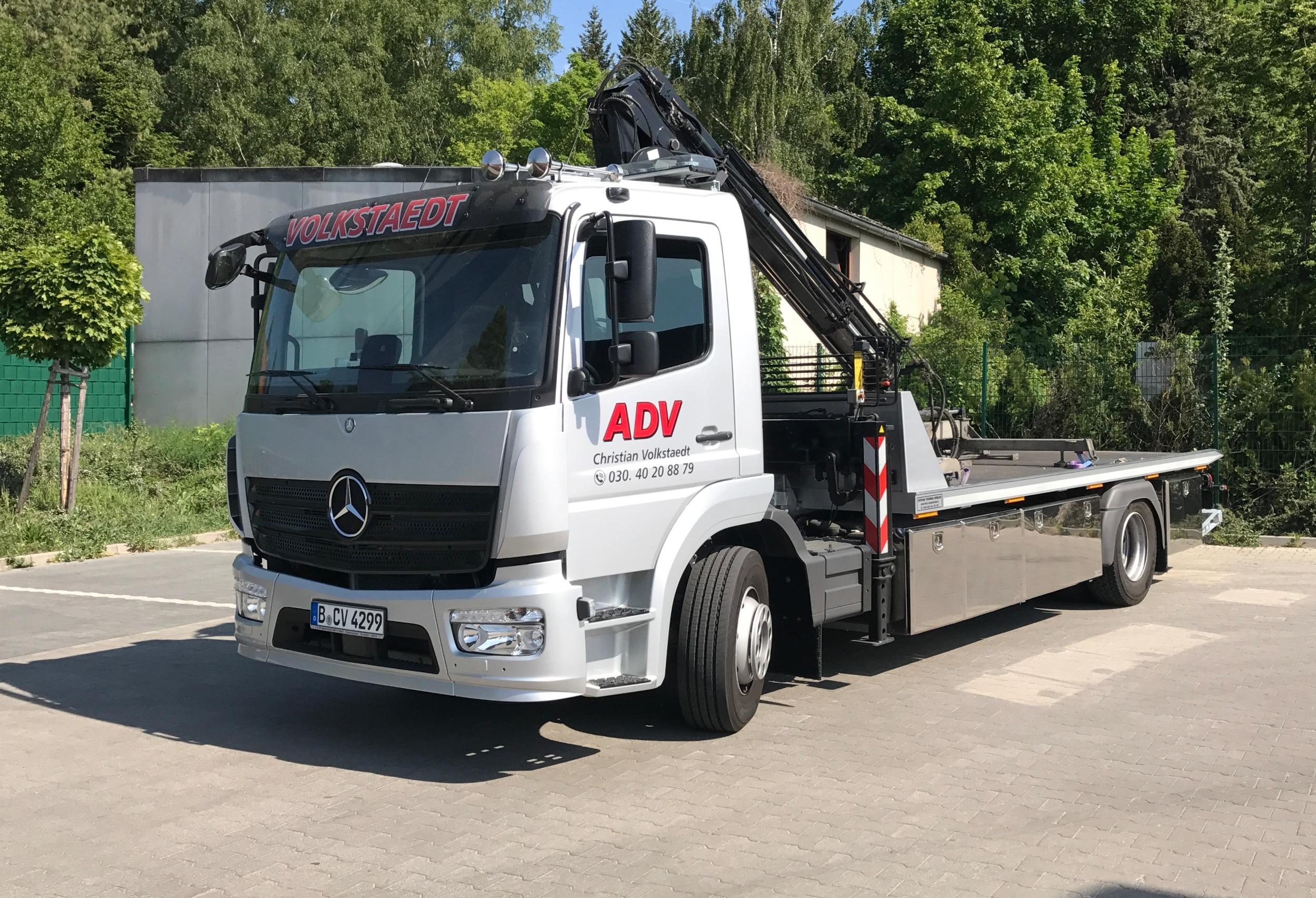 Abschleppwagen ADV Berlin