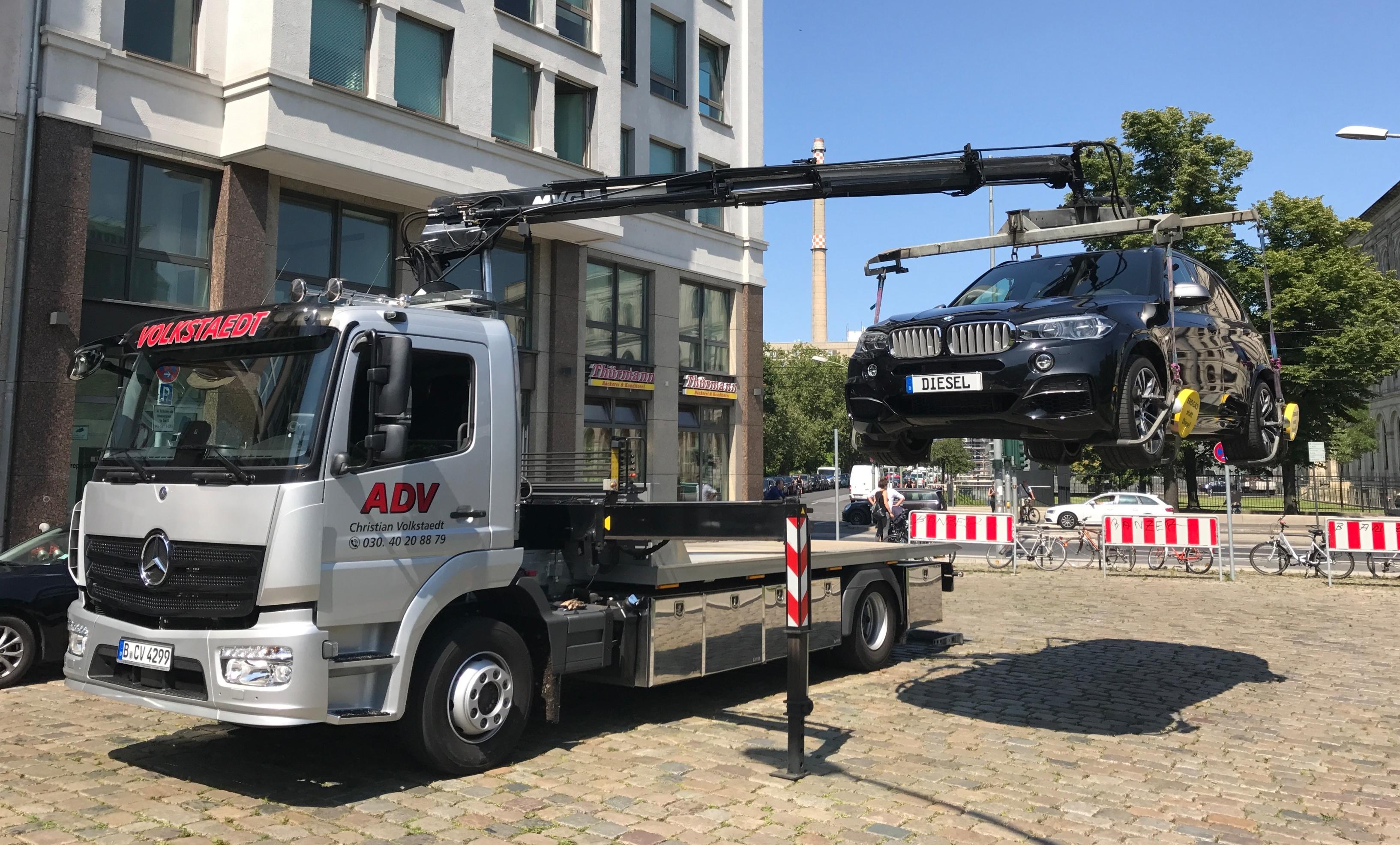 Umsetzen PKW in Berlin