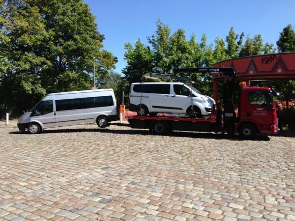 Abschleppdienst und Auto Transporte in Berlin