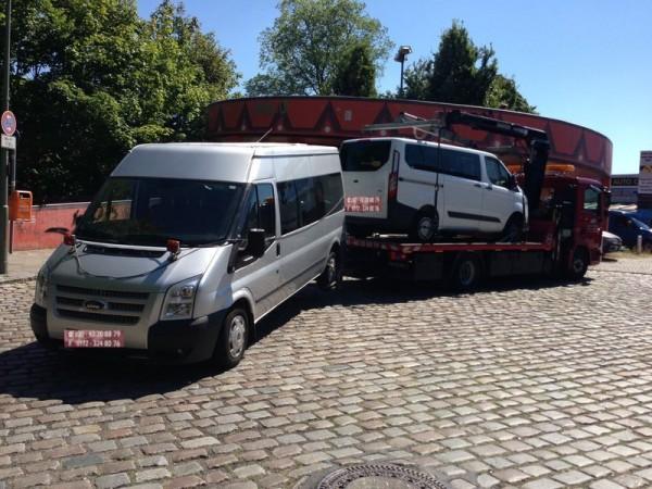 Umsetzen von Fahrzeugen aller Art in Berlin